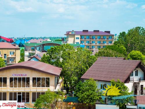 Автобусный тур в Анапу - Курортный комплекс «СНЕГИРИ»